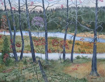 Beaver Creek 16x20 Canvas