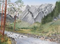 River's Edge 12x16 Canvas