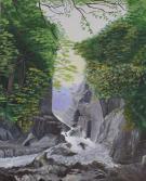 Rocky Gorge 20x16 Canvas Panel
