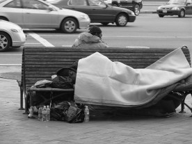 Asleep on Pennsylvania Avenue
