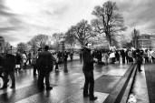 White House Tourist (Deep Contrast)