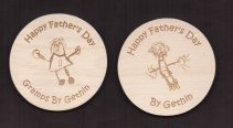 engraved wooden coaster12