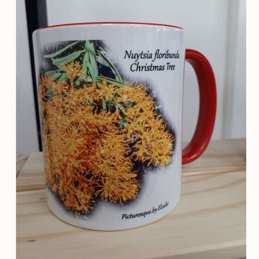 coffee mug wildflower quote