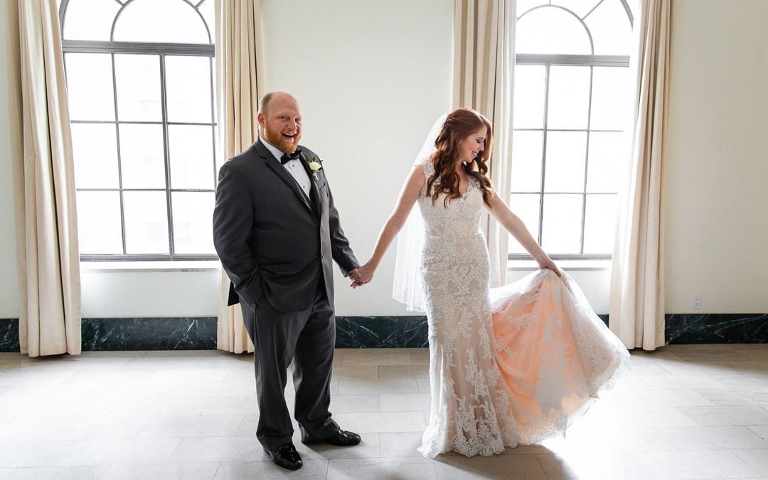 Lindsay + Ryan | Mayo Hotel Wedding | Tulsa, Oklahoma