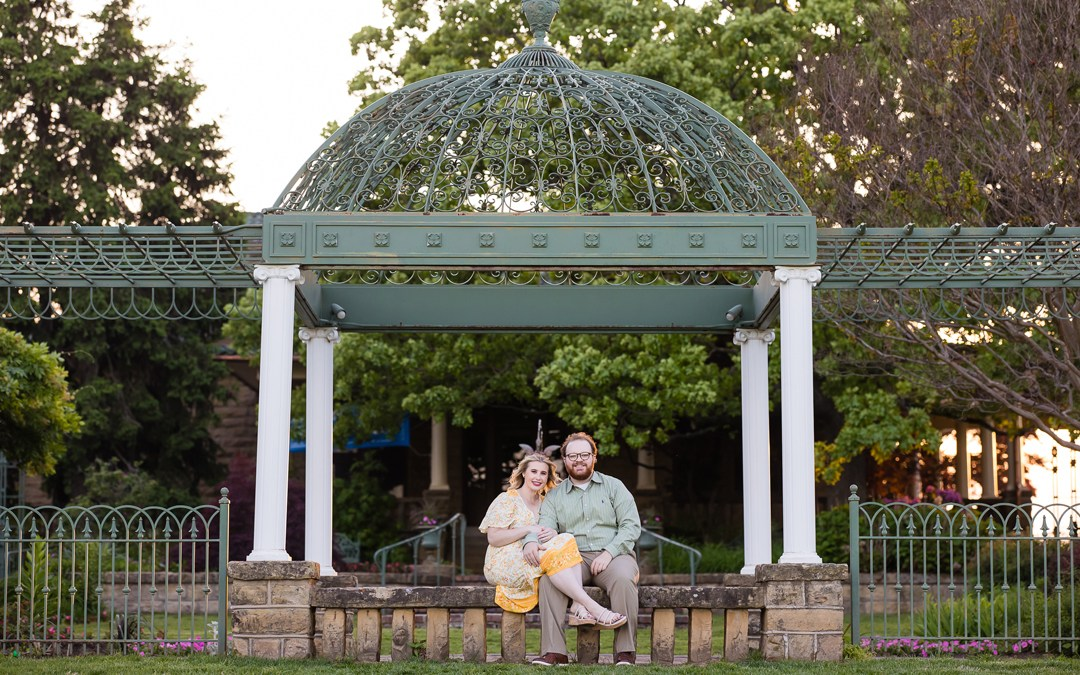 Kamree + Will | Downtown Tulsa and Gilcrease Engagement