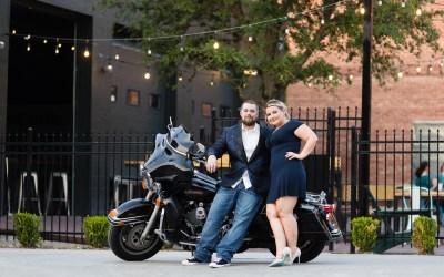 Sabrina + Joe | Downtown Tulsa Engagement Session