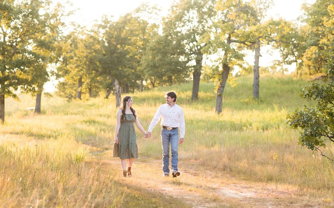 Rachel + Will   Picturesque Studios Engagement Session Tulsa