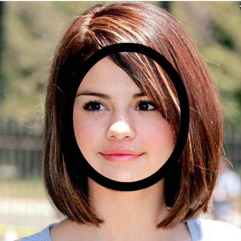 قصات شعر للوجه الدائري السمين احدث قصات الشعر للفتايات عيون