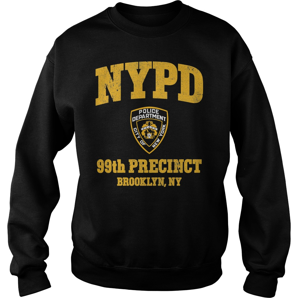 99th Precinct Brooklyn NY Police Department NYPD Sweater