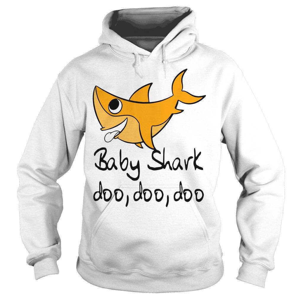 Baby shark doo doo doo baby shark Pinkfong family Hoodie