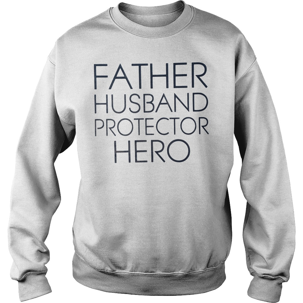 Father Husband Protector Hero men's Sweater