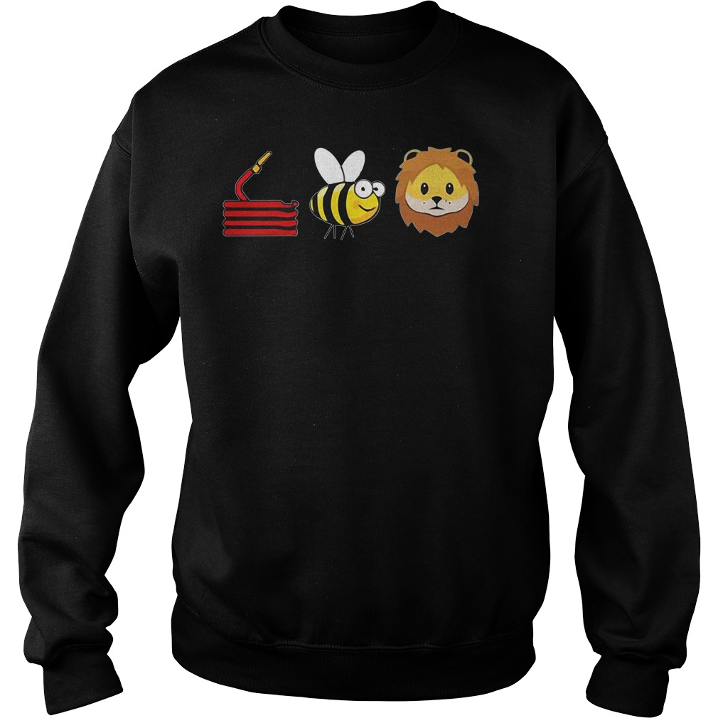 Funny Hose Bee Lion Sweater