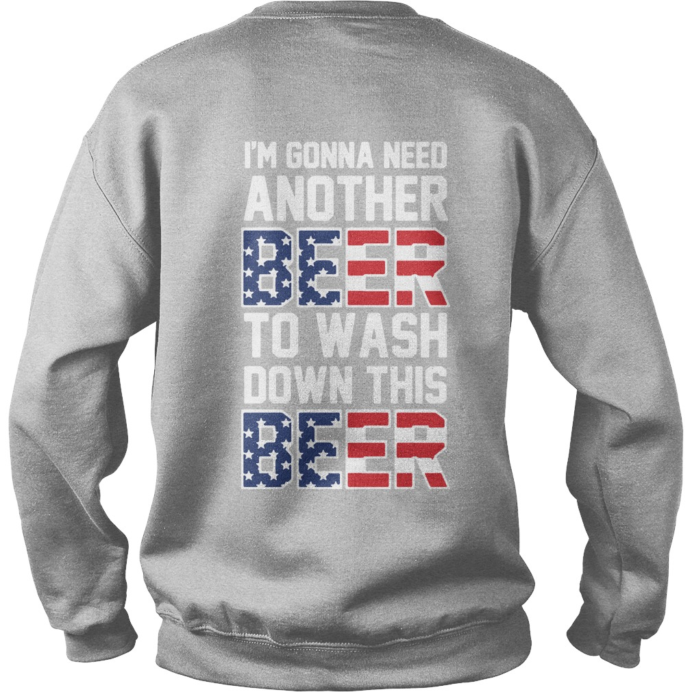 I'm gonna need another beer to wash down this beer Independence Sweater