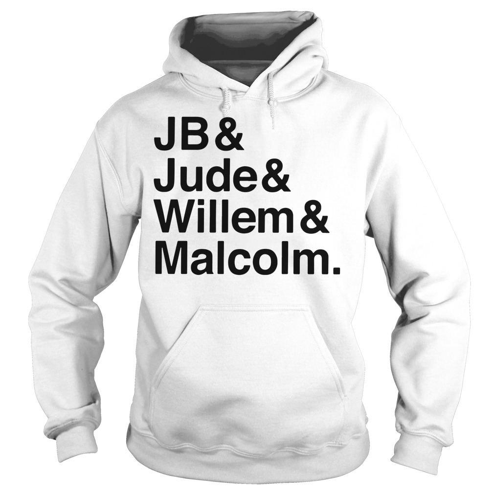 Jb Jude Willem Malcolm Queer Eye A little Life book Hoodie