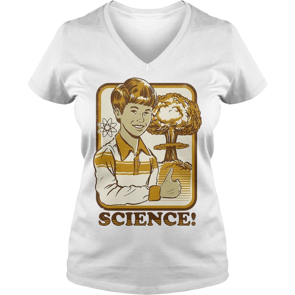 Kids Science Activities for children V-neck t-shirt