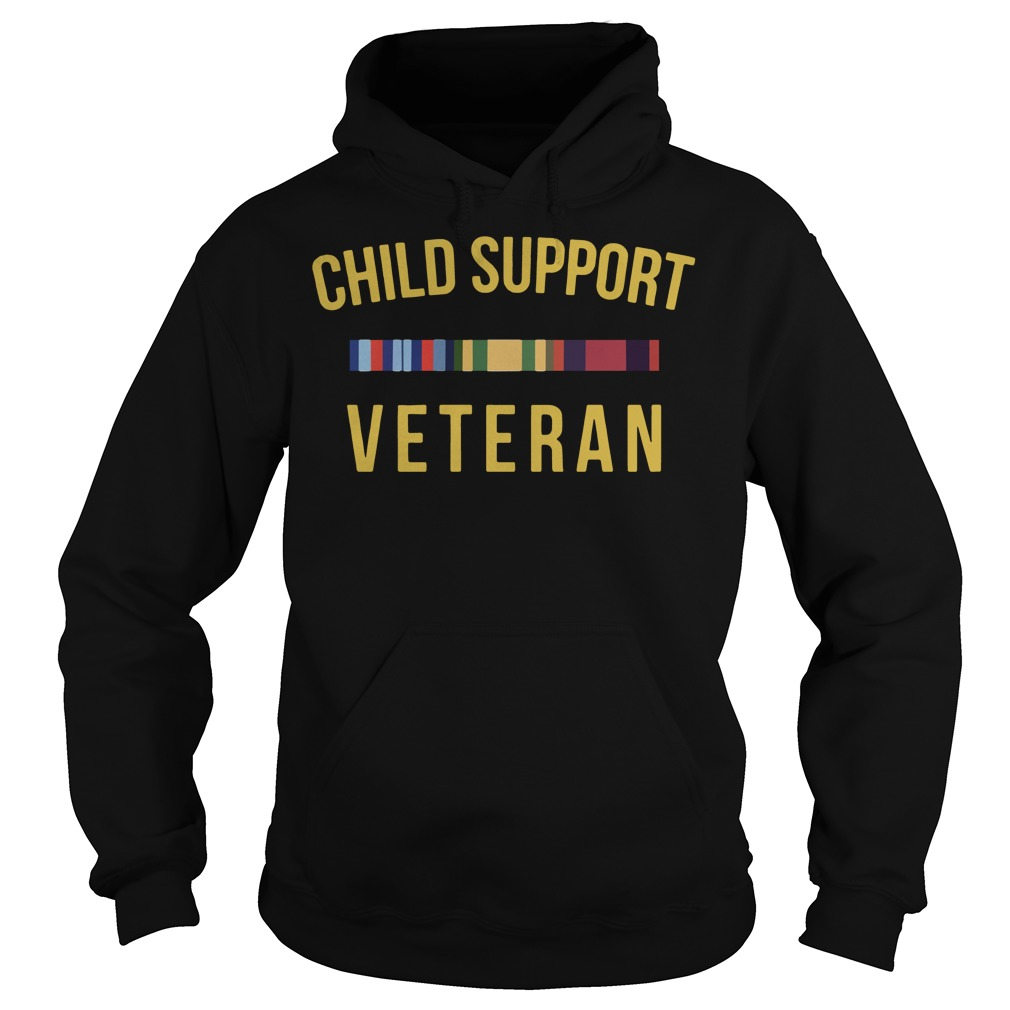 Official Child support Veteran Hoodie