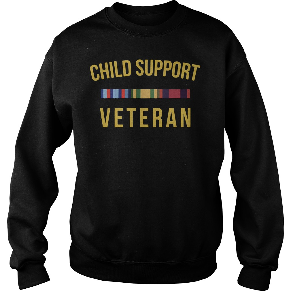 Official Child support Veteran Sweater