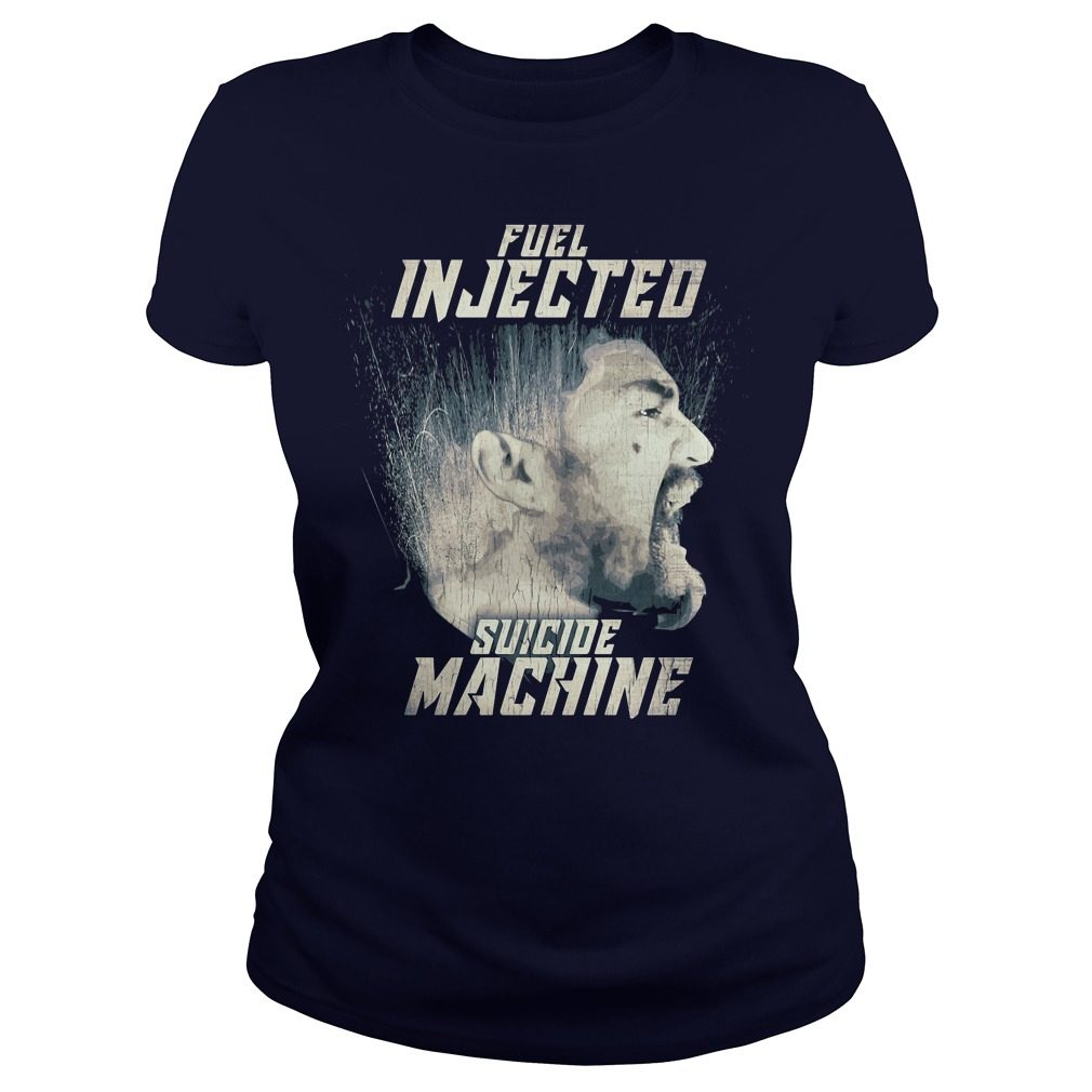 Official Fuel injected suicide machine Night Rider Ladies tee