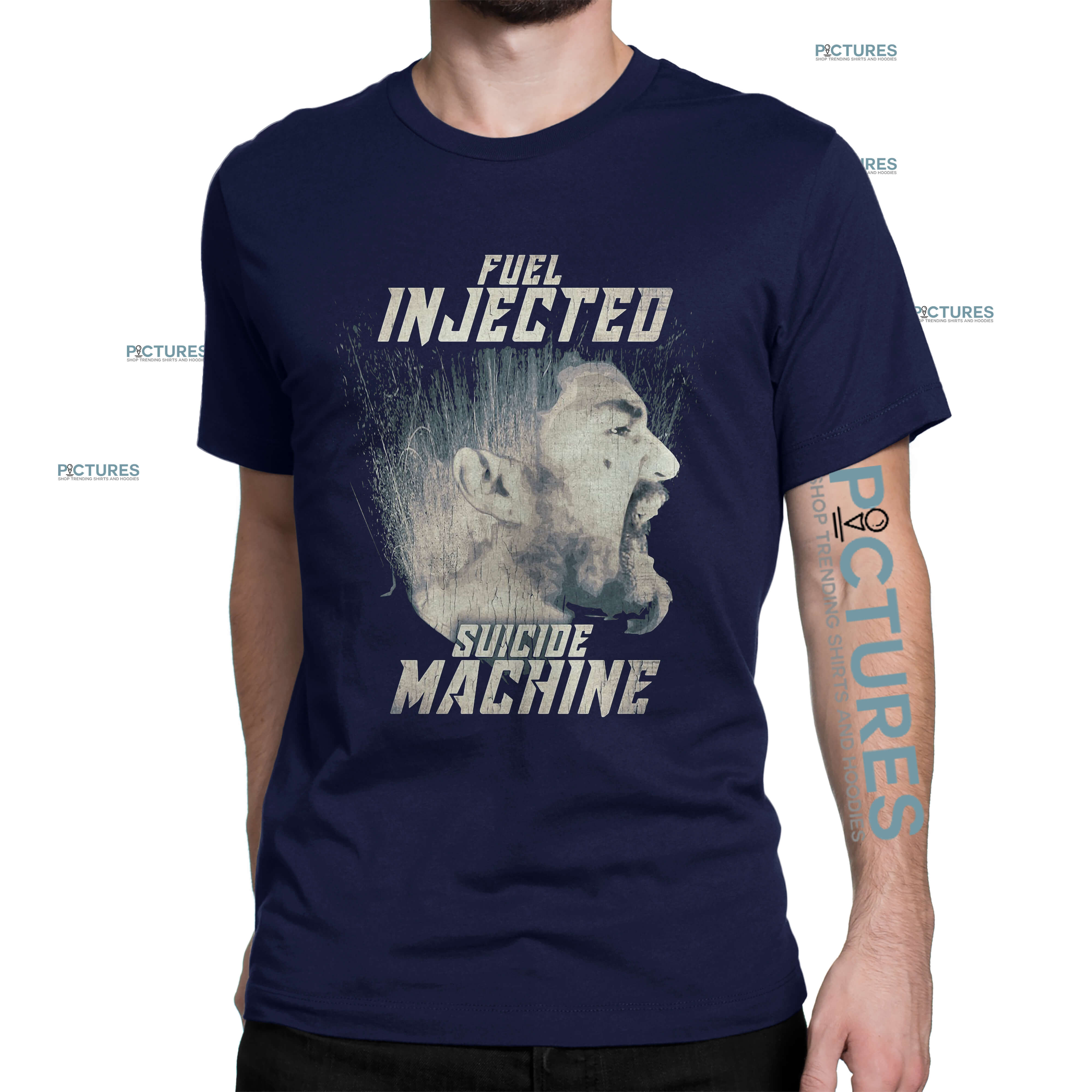 Official Fuel injected suicide machine Night Rider shirt