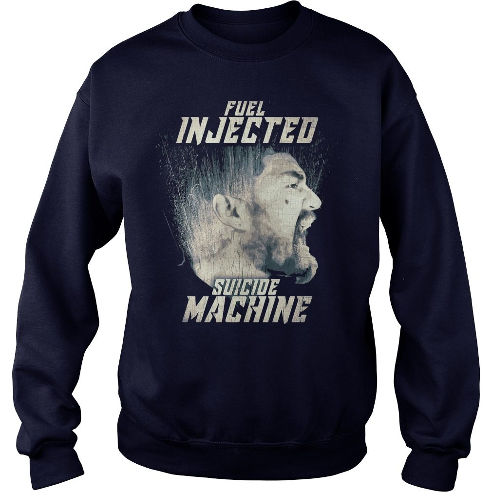 Official Fuel injected suicide machine Night Rider Sweater