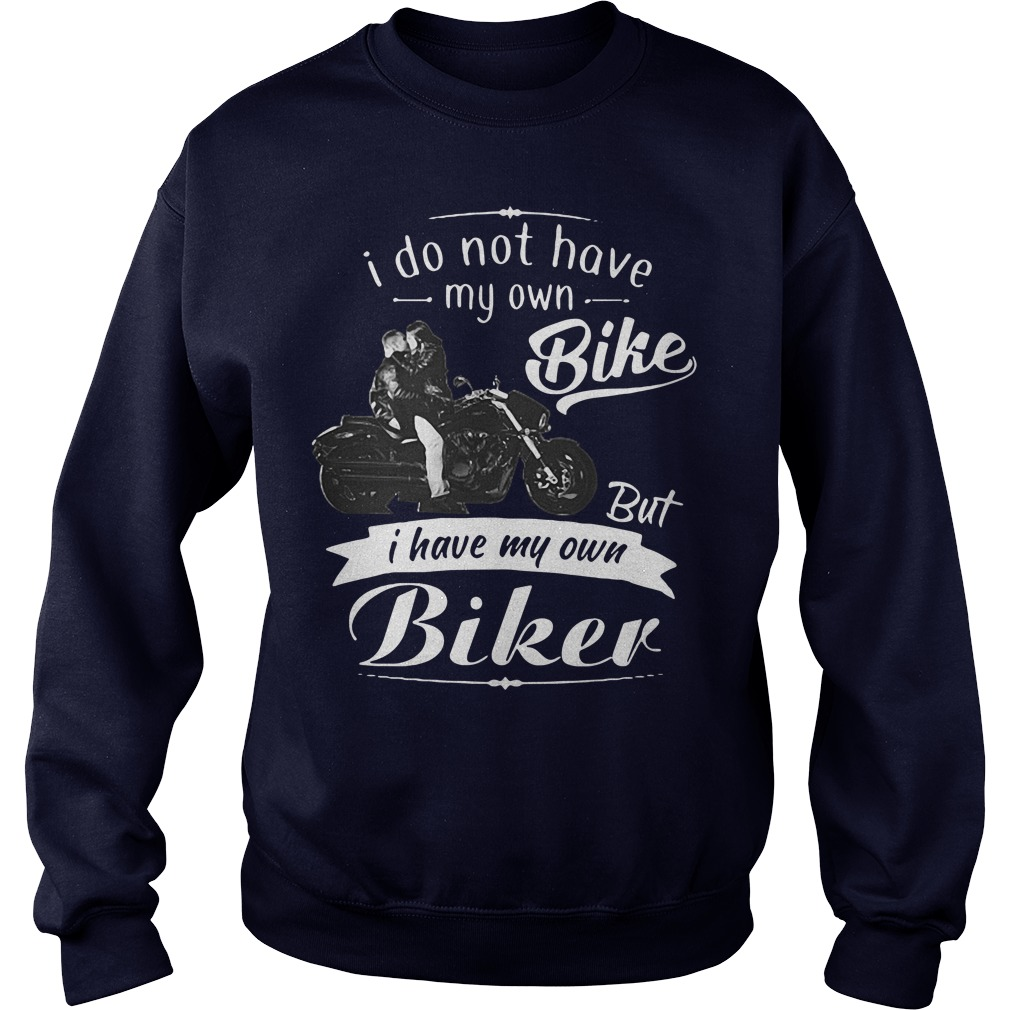 Official I do not have my own bike but I have my own biker Sweater