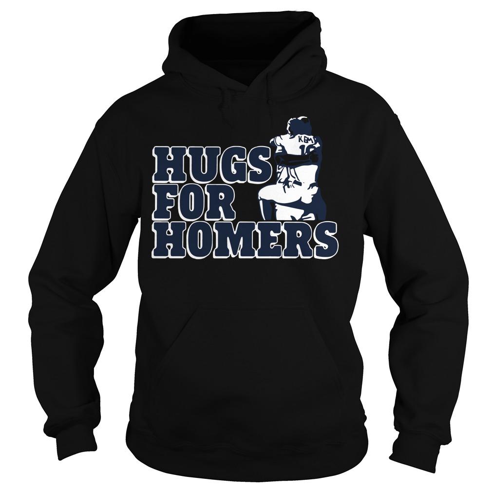 Official Kemp selling Hugs for Homers Hoodie