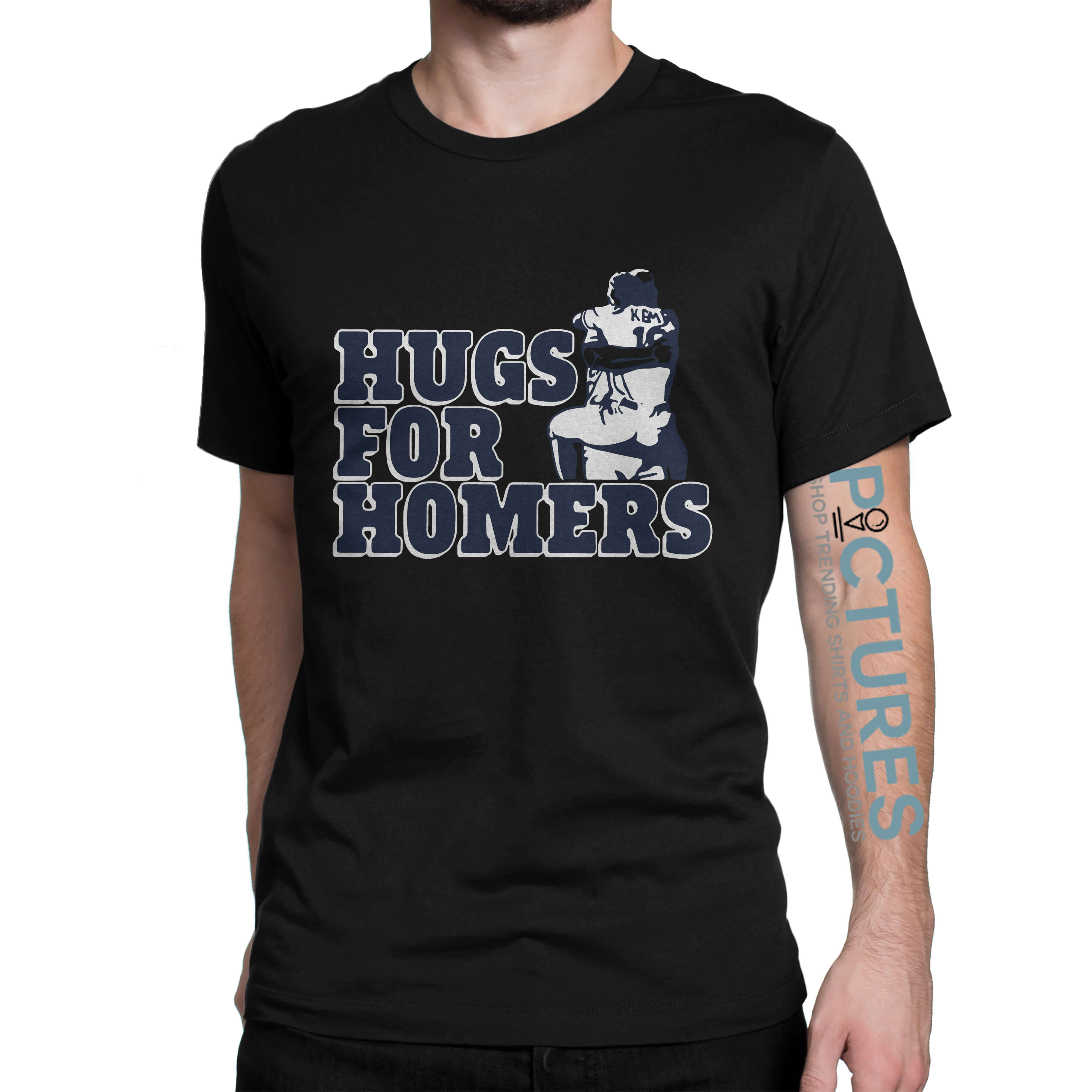 Official Kemp selling Hugs for Homers shirt
