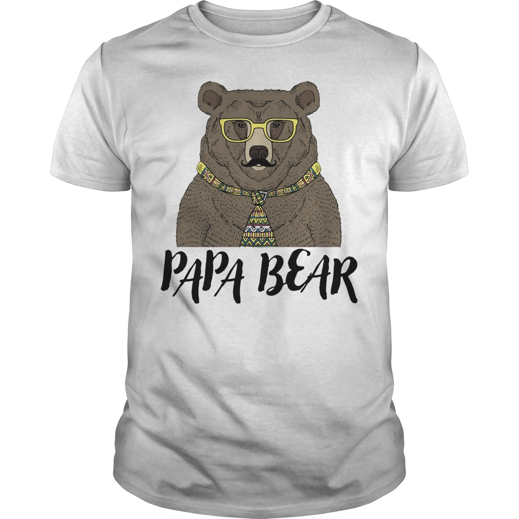Official Papa bear Guys tee