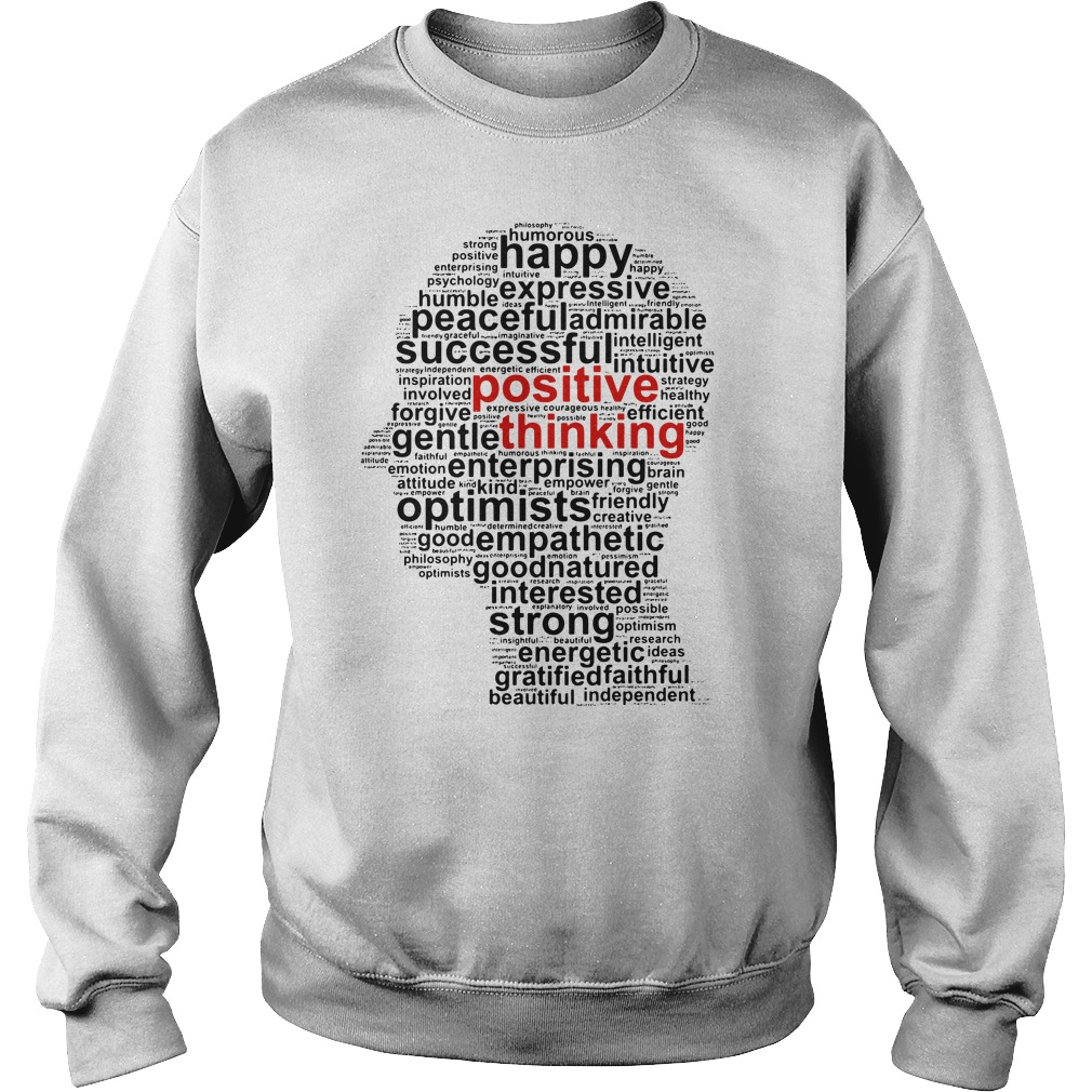 Official Positive thinking Sweater