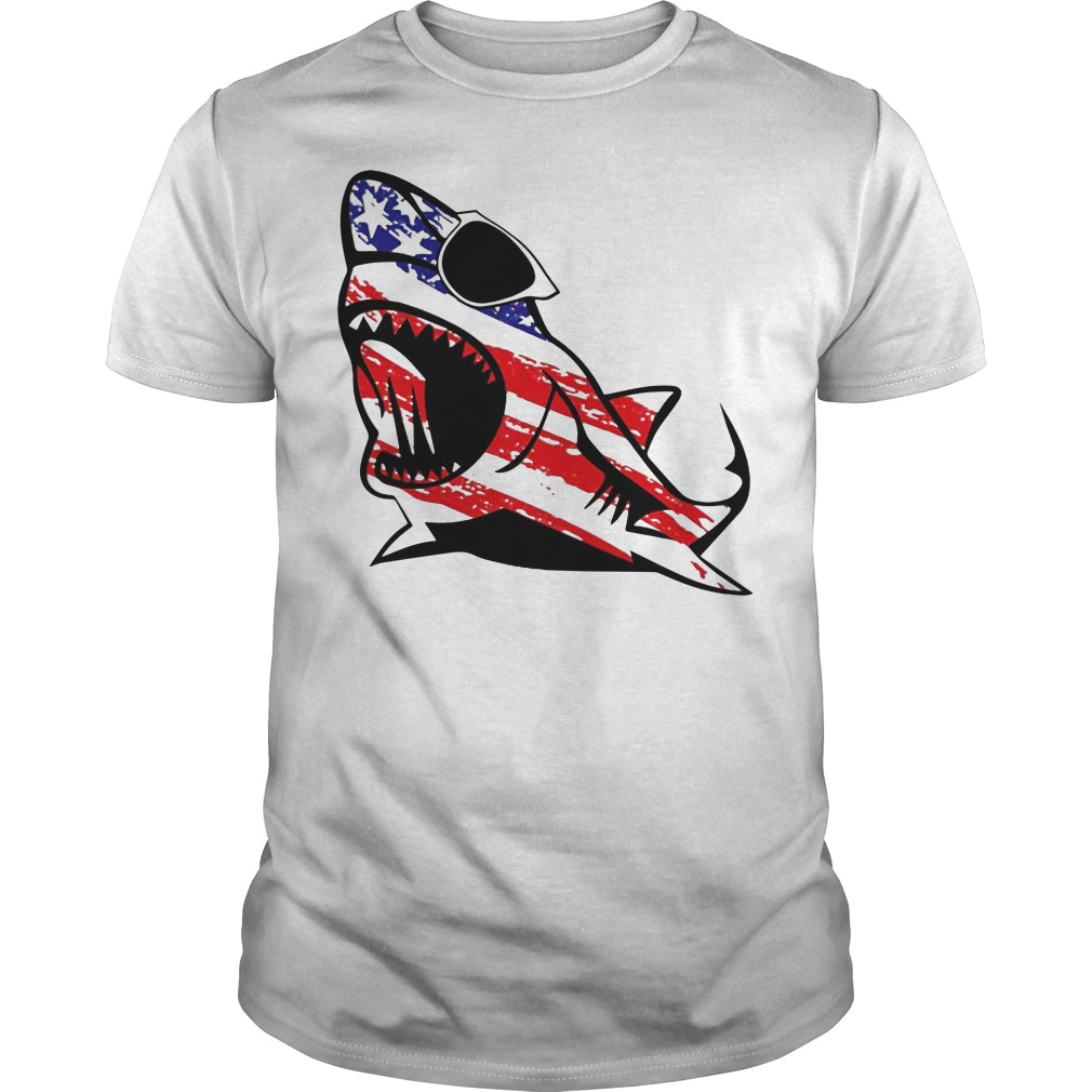 Official Shark sunglass Independence shirt