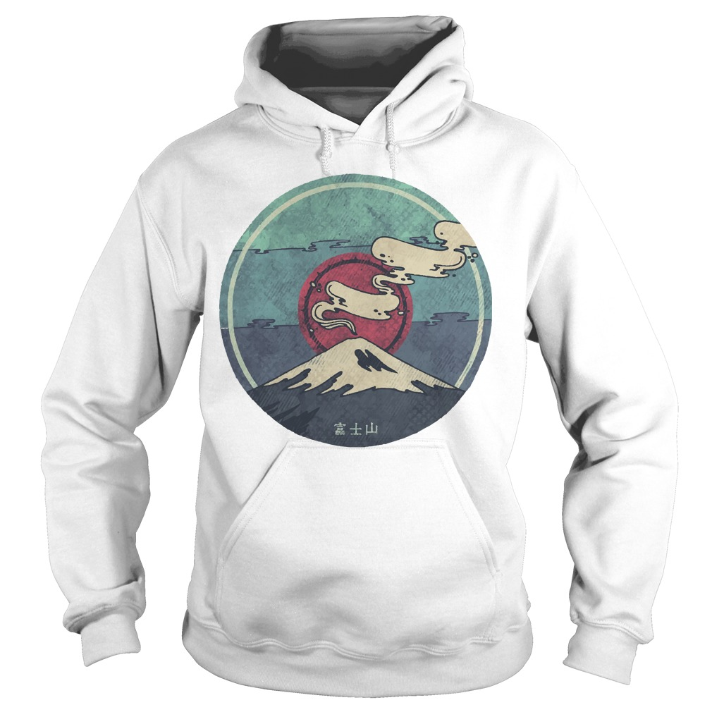 Official Volcano mount Fuji Camping Hoodie