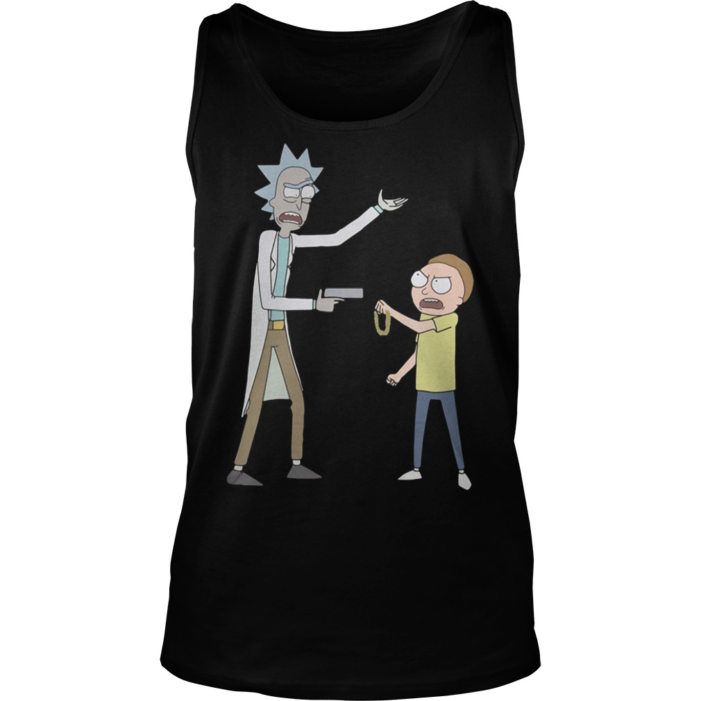 Rick and Morty run the jewels killer Mike Tank top