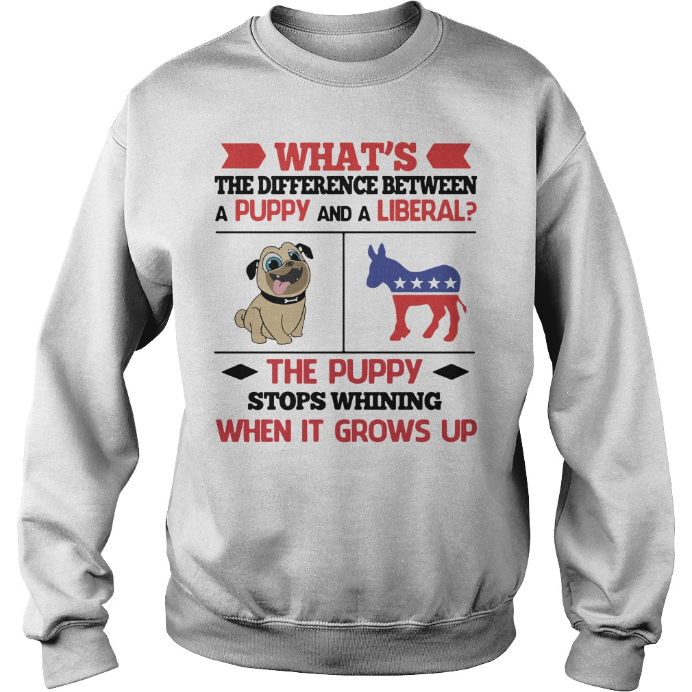 What's the difference between a puppy and a liberal Sweater