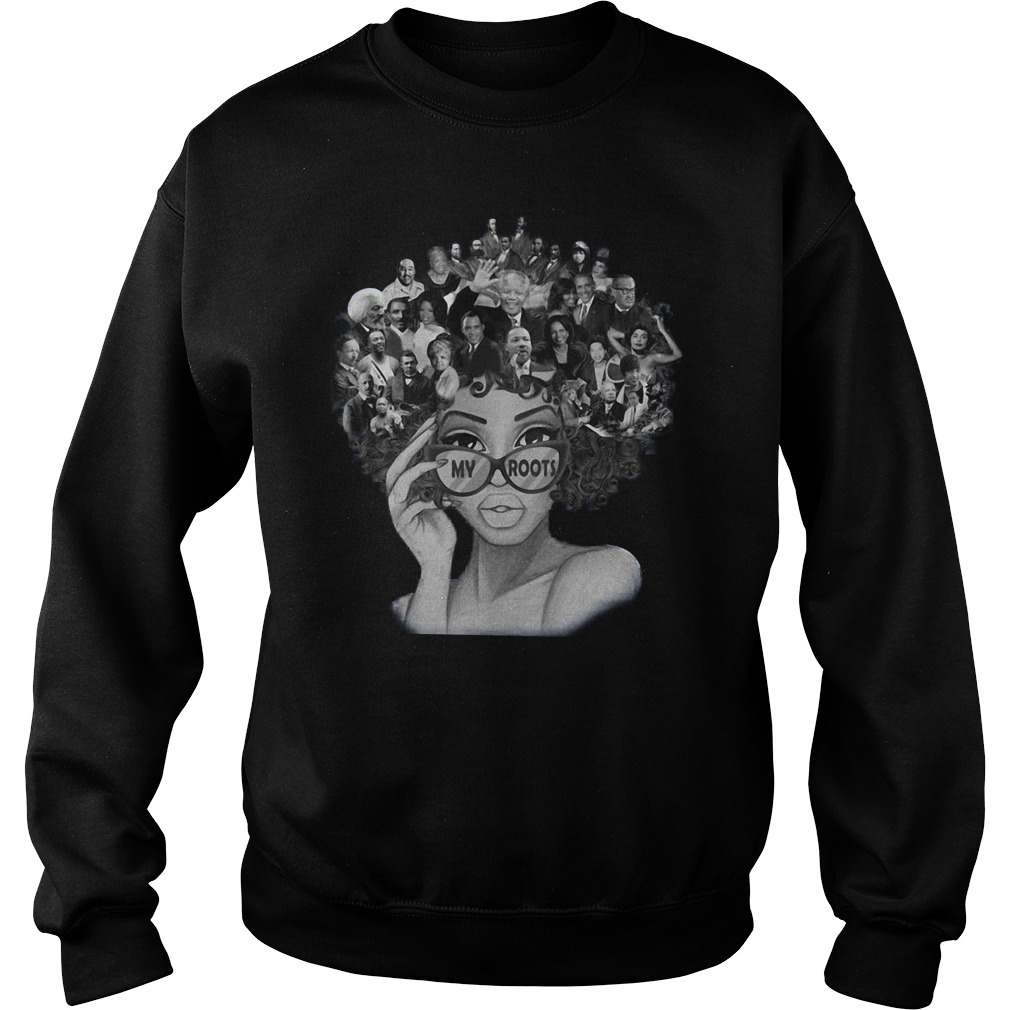 African American My Roots Famous People In My Head Sweater