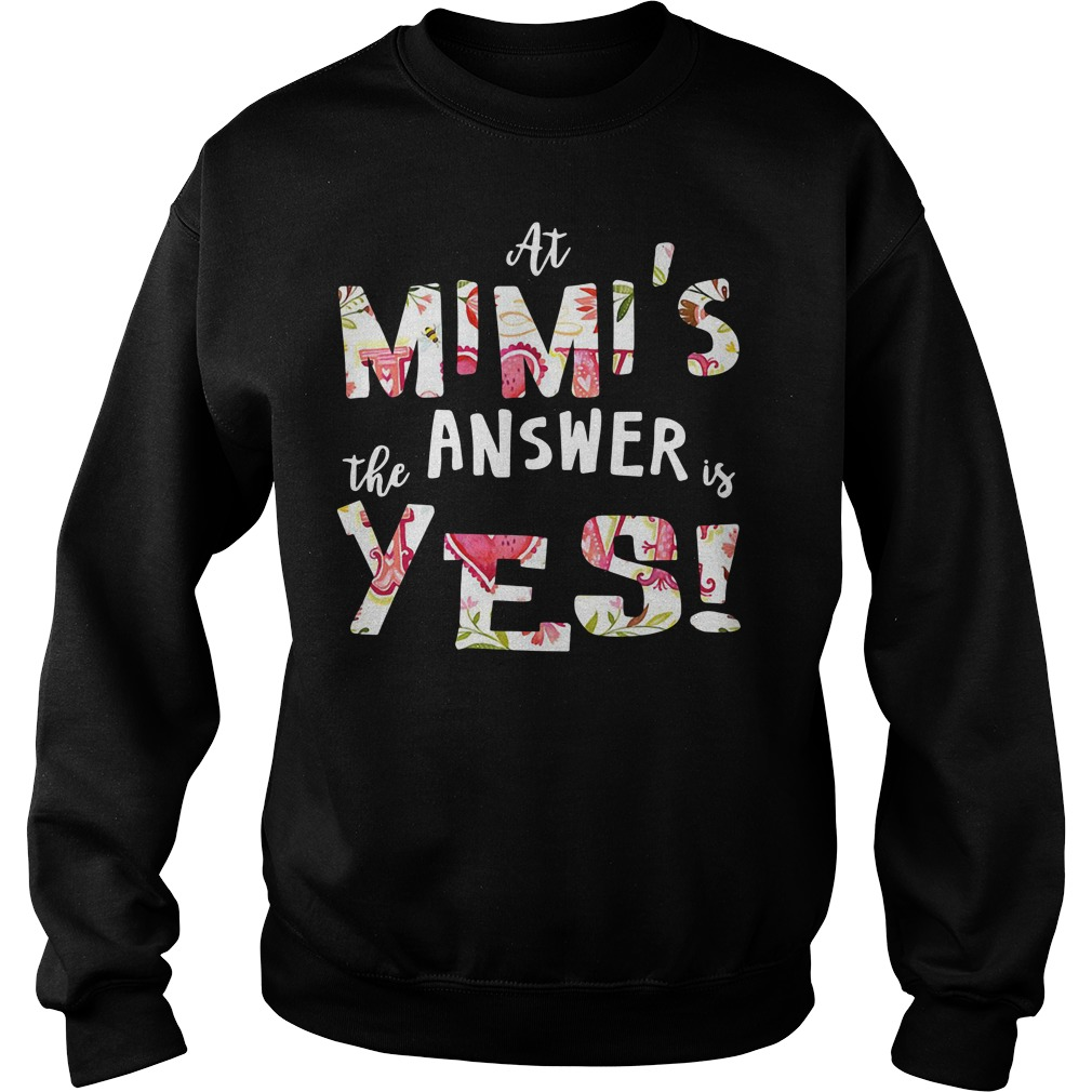 At Mimi's the answer is yes Mimi Sweater