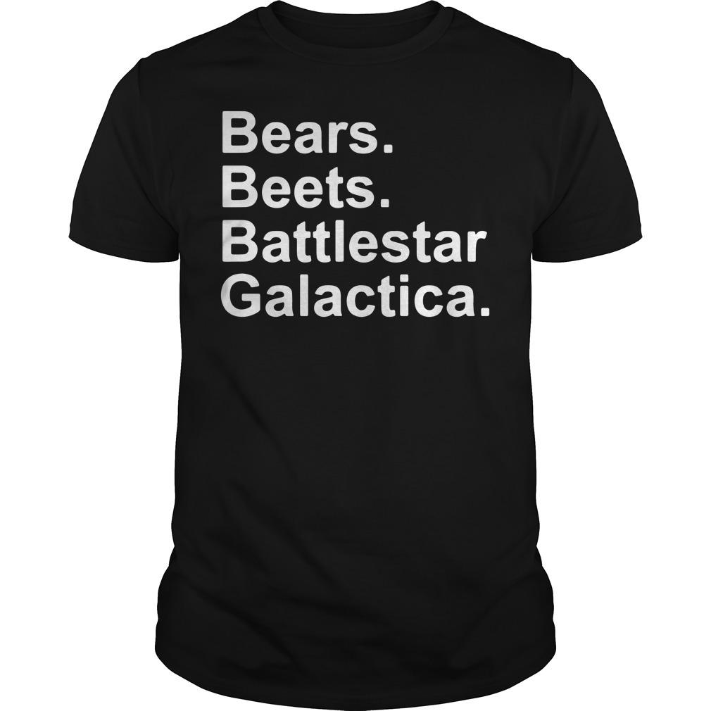 Bears Beet Battlestar Galactica Guys tee