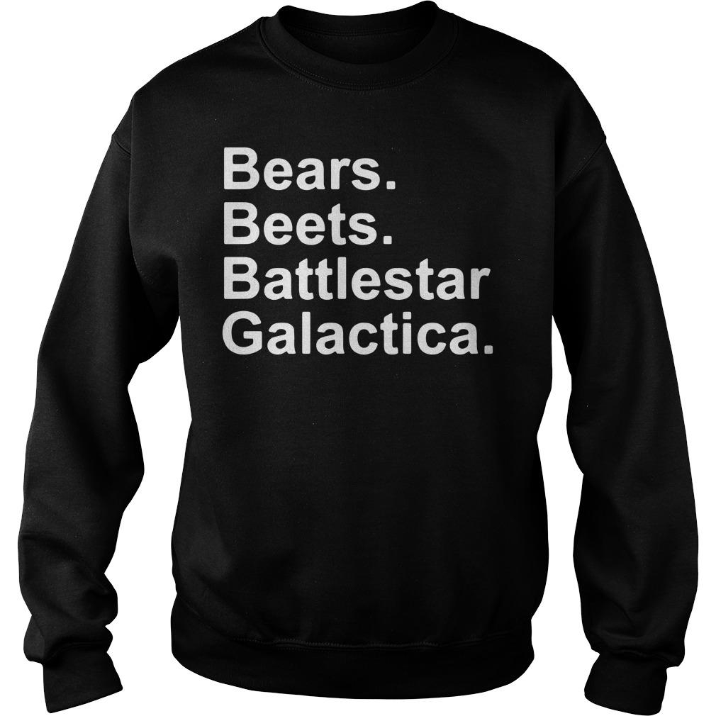 Bears Beet Battlestar Galactica Sweater