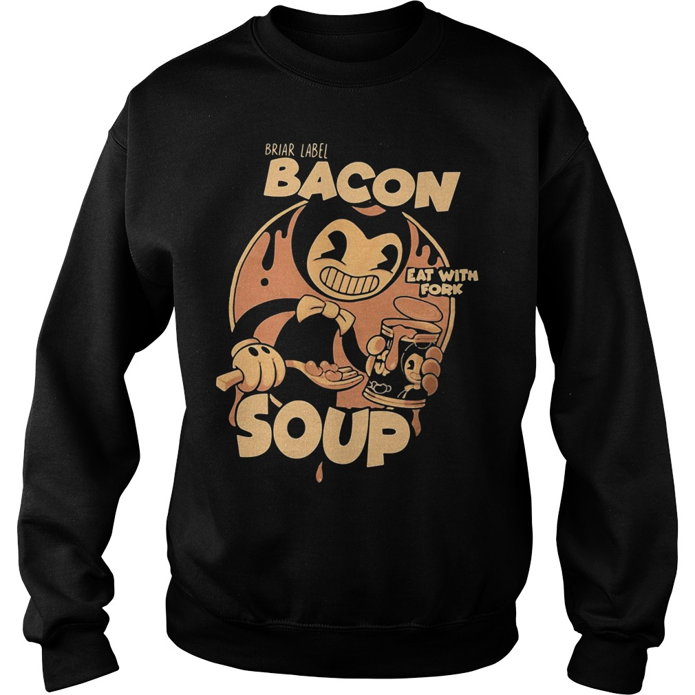 Briar Label Bacon Soup Eat With Fork Sweater
