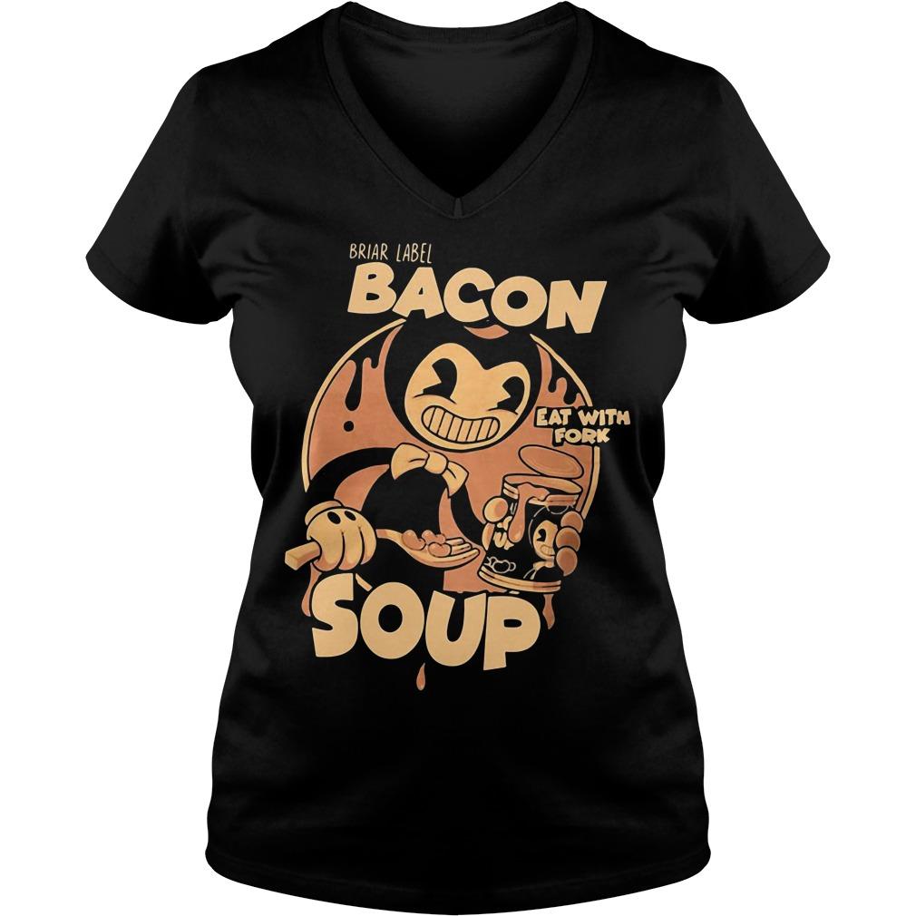 Briar Label Bacon Soup Eat With Fork V-neck