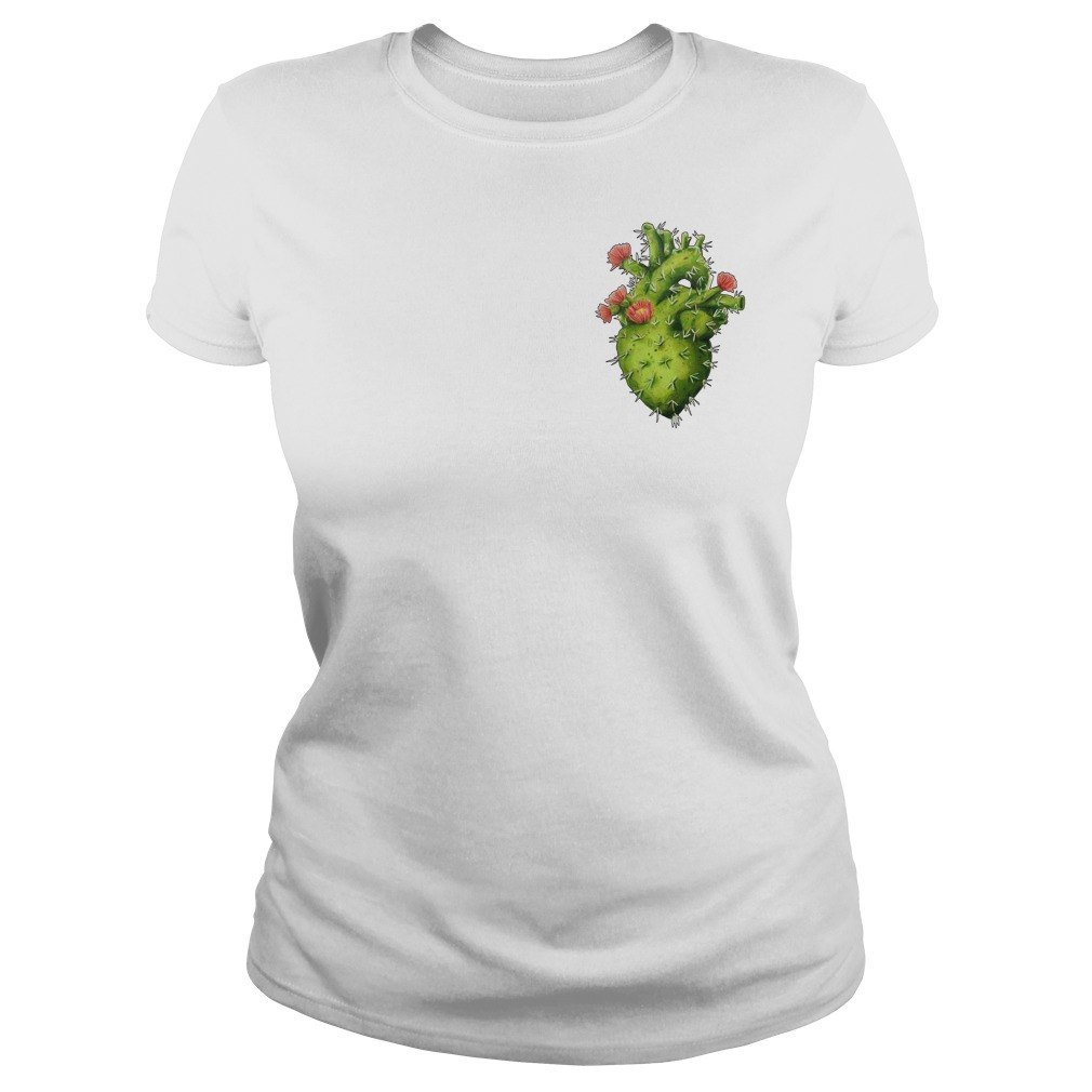 Cactus Heart Ladies tee