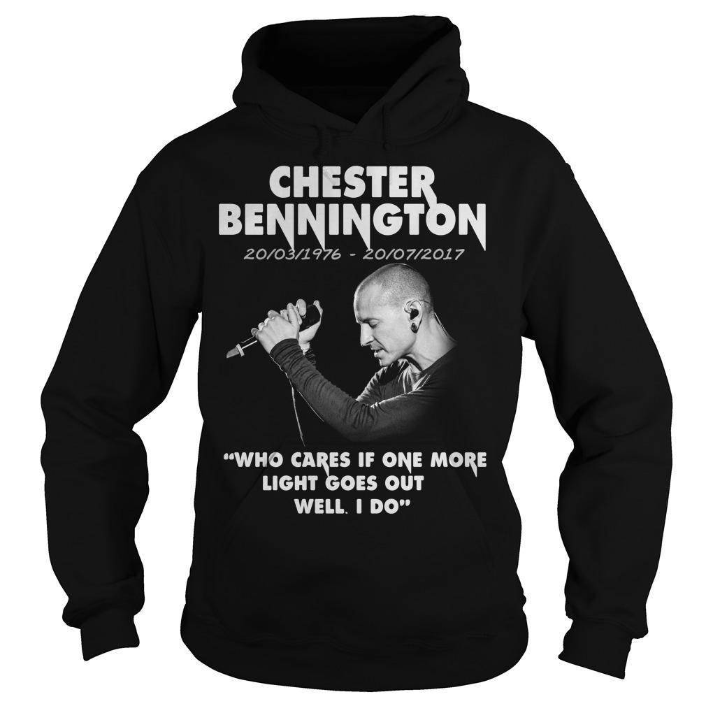 Chester Bennington Who Cares Hoodie