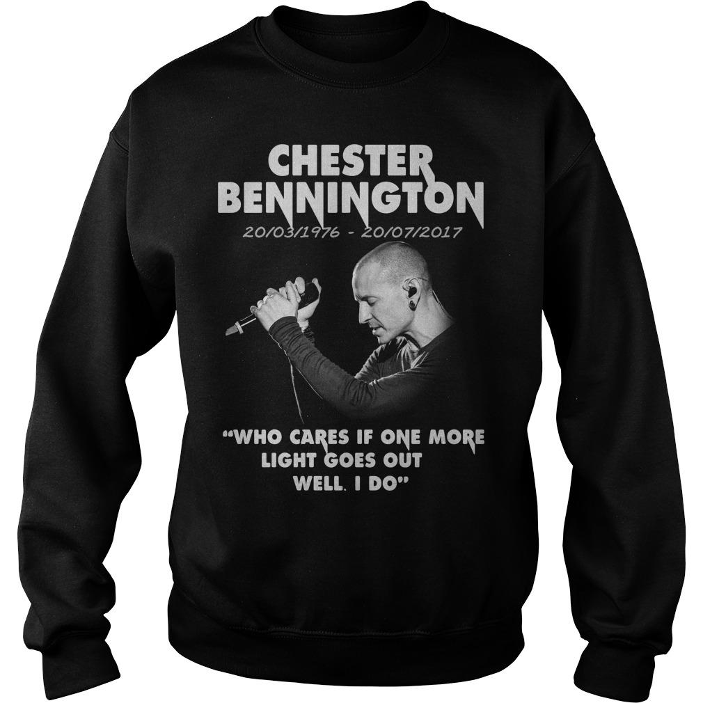 Chester Bennington Who Cares Sweater