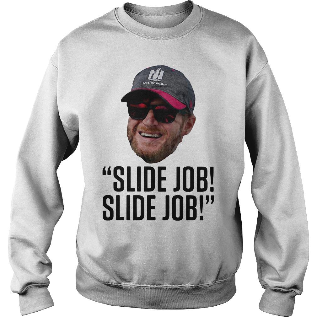 Dale Earnhardt Jr.'s 'slide job' Sweater