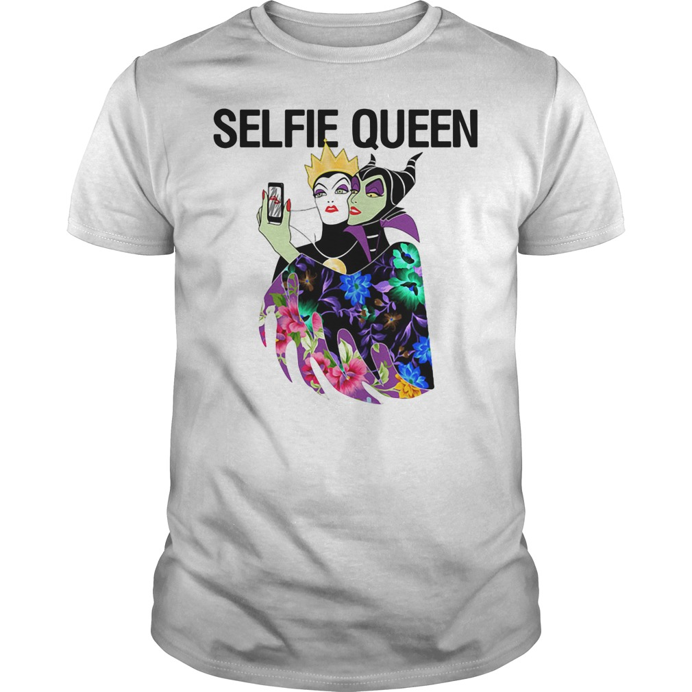 Evil Queen Selfie Guys tee