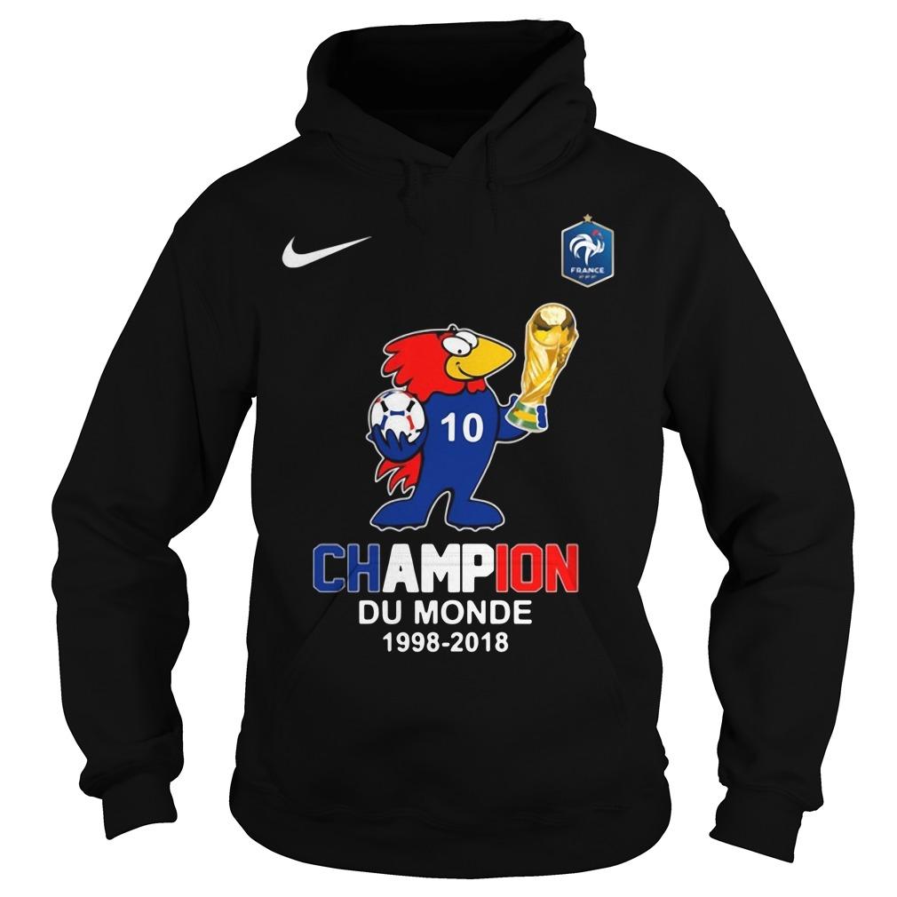Footix Champion Du Monde Hoodie