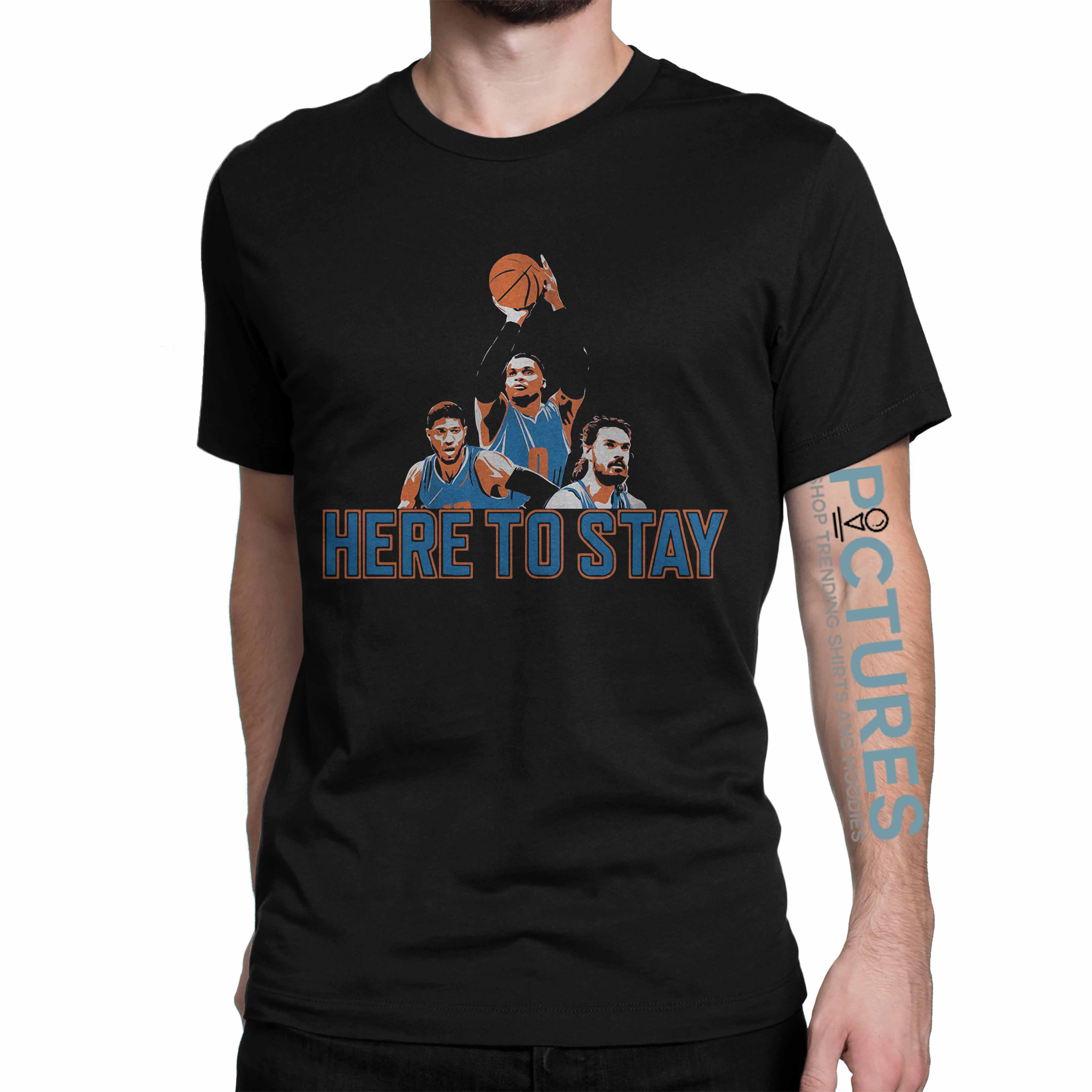 Official Here to stay Paul, Russell and Steven shirt