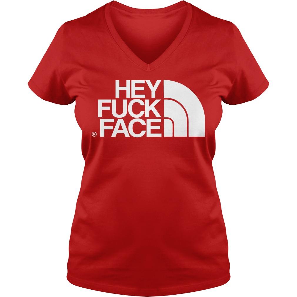 Hey Fuck Face V-neck
