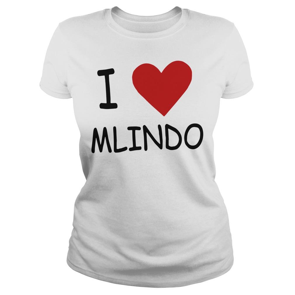 I Love Mlindo Ladies tee