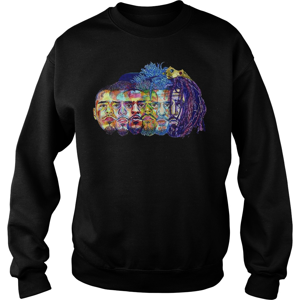 J Cole illustration art Sweater