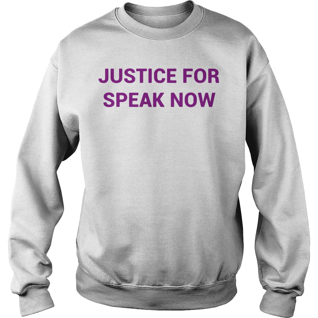 Justice For Speak Now Sweater